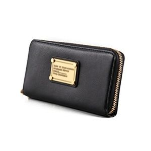 Marc by Marc Jacobs Classic Q Slim Leather Wallet